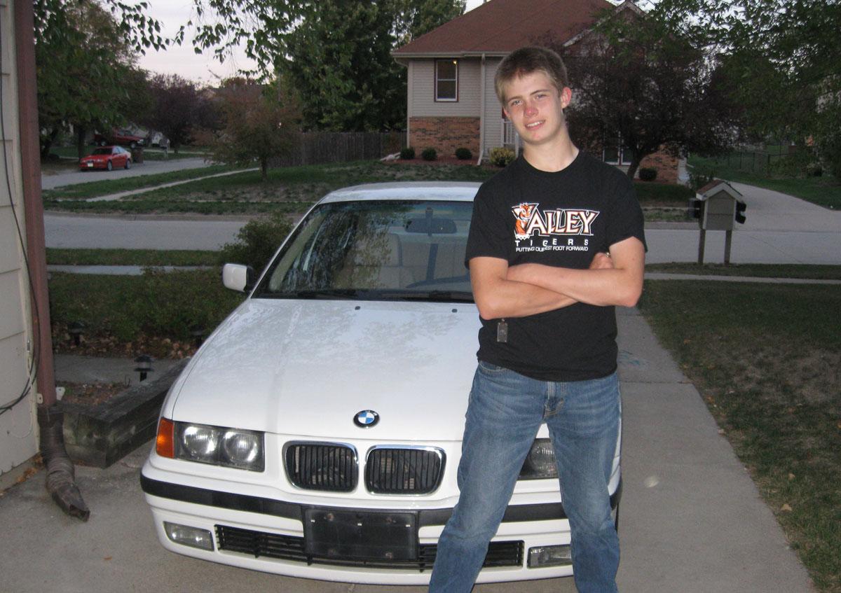 Ian Adams of West Des Moines