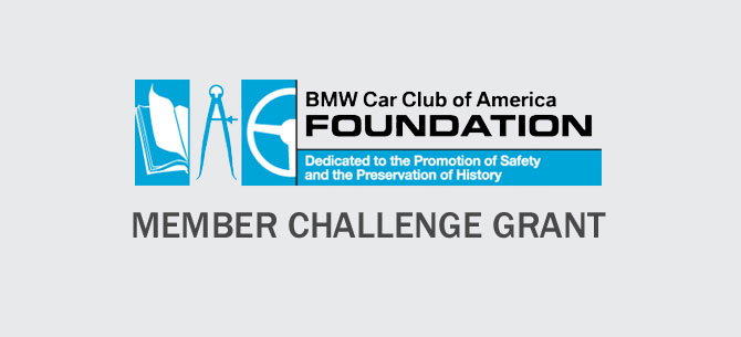 Great Opportunity For Bmw Cca Members To Participate Through A 250 000 Matching Funds Challenge