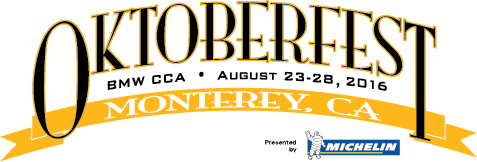 47th Annual BMW CCA Oktoberfest: August 23 – 28, 2016